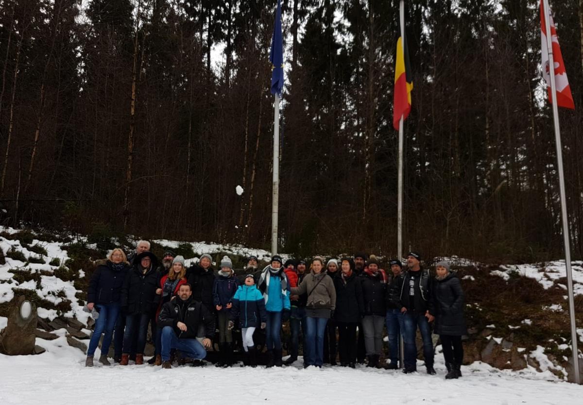 Familientour Belgien